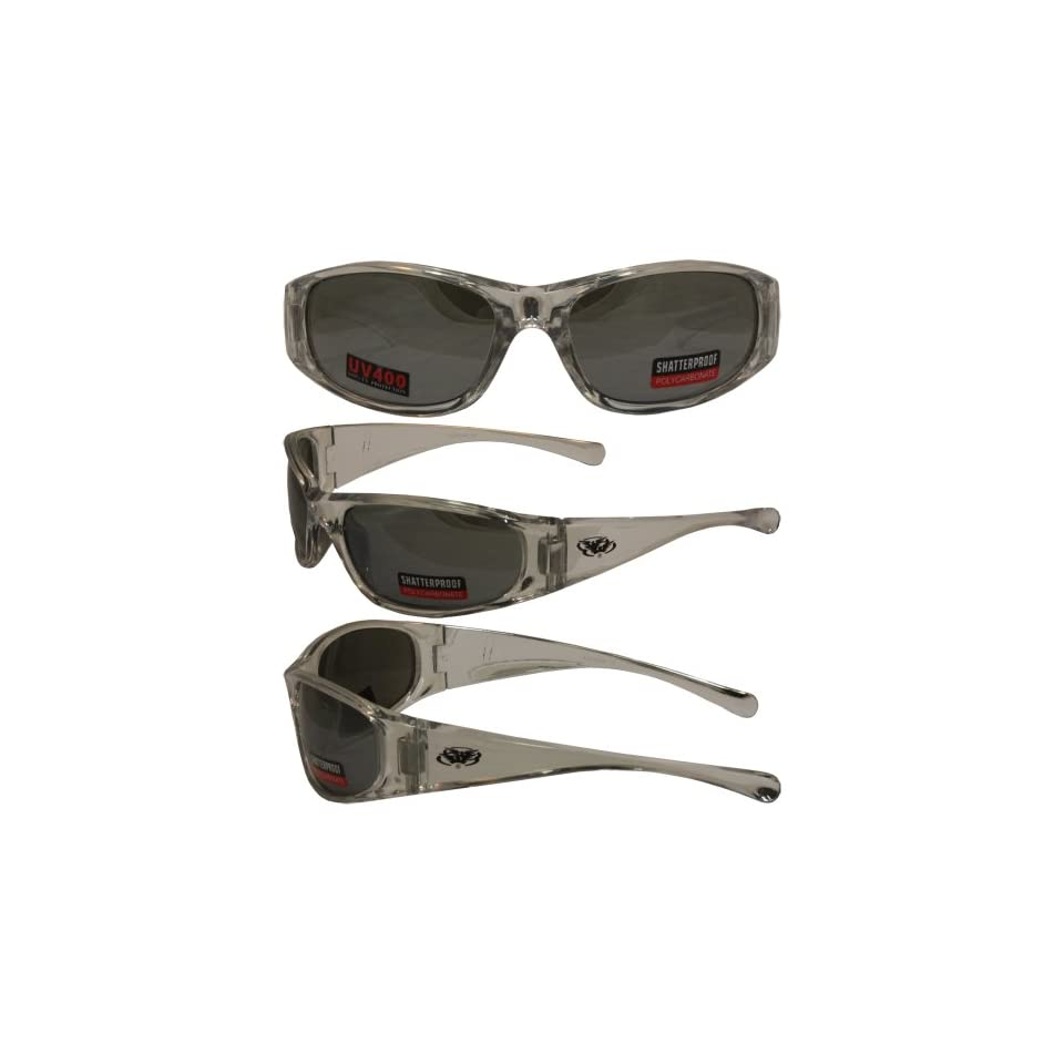 13aec6409b Silver and Chrome Sunglasses Flash Mirror Lenses By Global Vision on ...