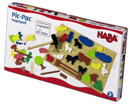 HABA Figure Geo Shape Tack Zap Toy