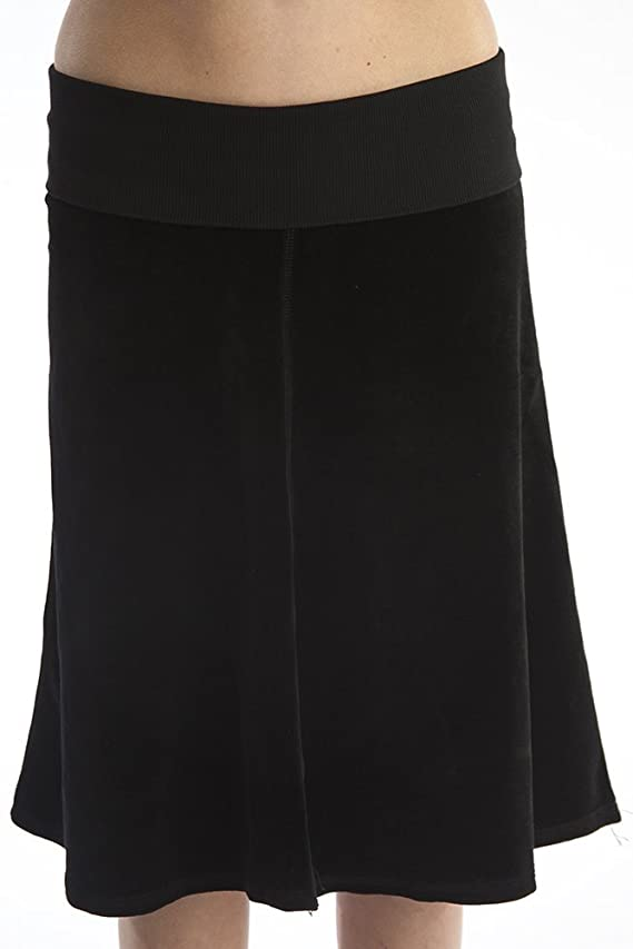 Hard Tail Aline velour skirt