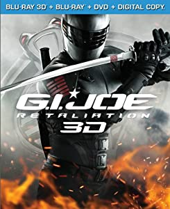 G.I. Joe: Retaliation (Blu-ray 3D / Blu-ray / DVD / Digital Copy +UltraViolet) from Paramount