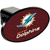 NFL Miami Dolphins Gameball Trailer Hitch Cover, Black at Amazon.com
