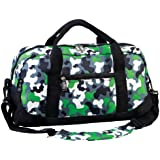 Wildkin Green Camo Overnighter Duffel Bag
