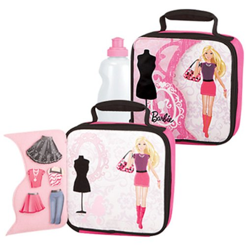 Thermos 5-Piece Barbie Novelty Dress Up Soft Lunch Kit front-912391