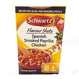 Schwartz Flavour Shot Smoked Paprika Chicken 52g