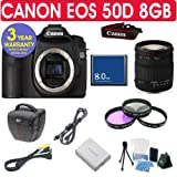 Canon EOS 50D + Sigma 18-200mm Lens + 8GB Memory