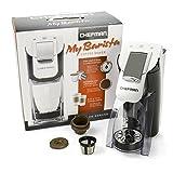 Chefman, My Barista Single Serve Coffee Maker, White