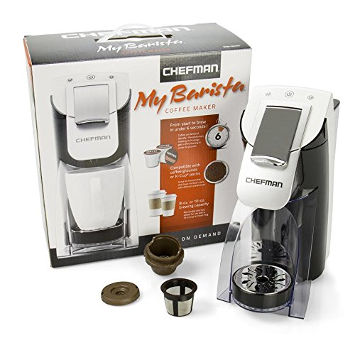 Big Save! K-Cup Compatible Brewer - Chefman My Barista Personal Single Serve Brewing Machine - Heats...