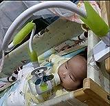 Soporte para botella, Universal para bebé cama copa Clip Soporte Lazy soporte flexible Largo Brazos Soporte para el bebé dormitorio escritorio cama cochecitos