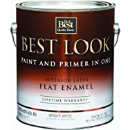 - HW36W0726-16 Best Look Interior Flat Paint And Primer In One Wall Enamel