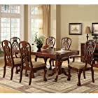Georgetown Cherry Finish Formal Dining Set