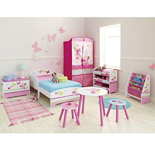 Filles assez n Patchwork rose Toddler Bed