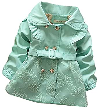 Amazon.com: Baby Girls Clothes Girls Overcoat Autumn