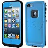 【全13色】iphone5/iphone5s対応ケース 生活防水、防塵、耐衝撃アイフォン5ケース カバー (ライトグリーン)