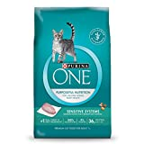 Purina ONE Sensitive Skin & Stomach Formula Adult Dry Cat Food - 7 lb. Bag