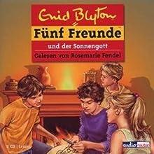 Fünf Freunde und der Sonnengott (Fünf Freunde 57) Hörbuch von Enid Blyton Gesprochen von: Rosemarie Fendel