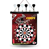 NFL Kansas City Chiefs Magnetic Dart Board