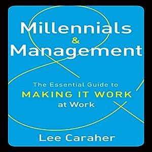 Millennials and Management Audiobook