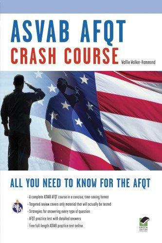 ASVAB AFQT Crash Course Book + Online (Military (ASVAB) Test Preparation)