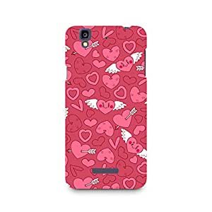 Mobicture Wngs of Love Premium Printed Case For Micromax YU Yureka A05510