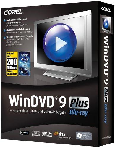 WinDVD 9 Plus Blu Ray