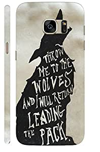 Aatank Premium Printed Mobile Case Back Cover for Samsung Galaxy S7