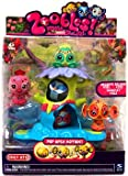 Zoobles Toy Exclusive Triplets Pack #121 Celeste, #122 Beluga, #123 Jeromey