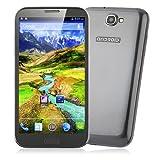 Dual sim Star S7589 Android 4.1 Smartphone MTK6589 Quad Core 5,7 pulgadas HD de pantalla 1G RAM 8G ROM Negro