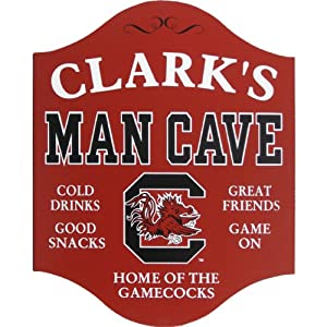 Personalized South Carolina Man Cave Sign