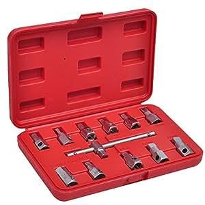 VidaXL 210045 Kit de clés à vidange 12 pièces