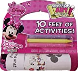 Disney Minnie Mouse Mini Rolling Art Activity Includes Crayons