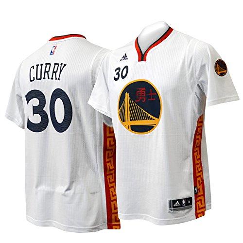 Golden State Warriors 2016-17 Chinese New Year Adidas Swingman Jersey