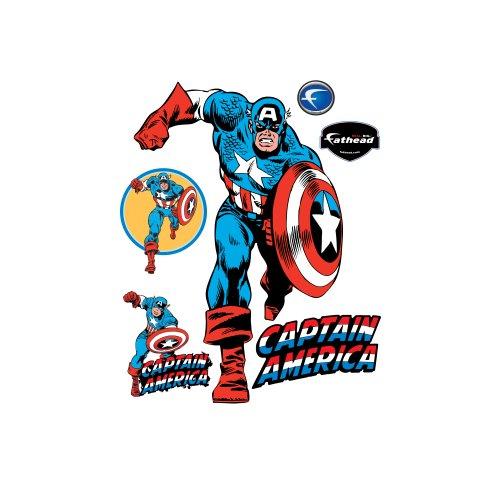 Captain American Wall Graphic (Fathead Captain America compare prices)