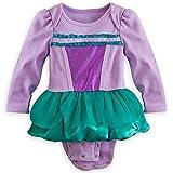 Disney Store Little Mermaid Ariel Onesie Bodysuit Halloween Costume Size 0-3 Months