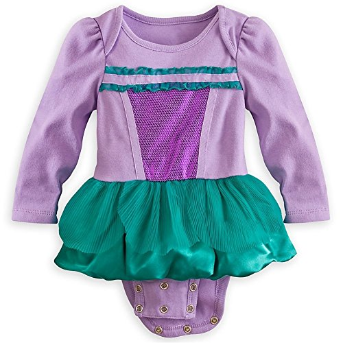 Disney Store Little Mermaid Ariel Onesie Bodysuit Halloween Costume Size 0-3 Months