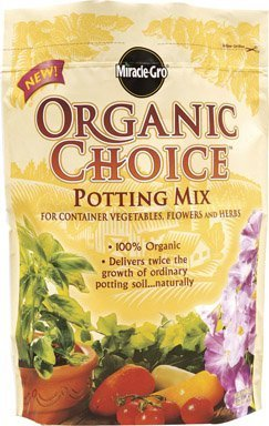Miracle-Gro Organic Choice Potting Mix - 16 Quart