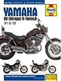 Yamaha XV Virago V-twins Service and Repair Manual: 1981 to 2003 (Haynes Service and Repair Manuals)