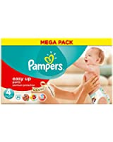Pampers - Easy Up Couches Culottes - Taille 4 Maxi - 8-15 kg - Megapack x 84 Couches