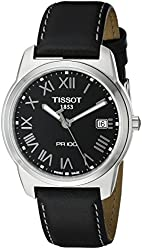 Tissot Men's T0494101605301 PR100 Black Dial Watch
