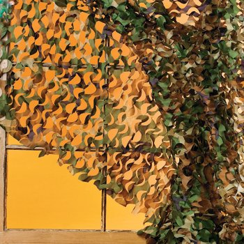 Awesome Army Camouflage Curtain for Boys!