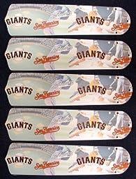 Ceiling Fan Designers 52SET-MLB-SFG MLB San Francisco Giants Baseball 52 In. Ceiling Fan Blades ONLY