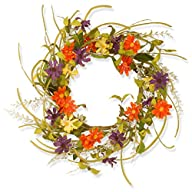 National Tree Garden Accents Floral D…