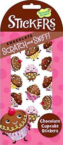 Peaceable Kingdom Scratch and Sniff Chocolate Cupcake Scented Sticker Pack