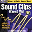 Sound Clips: Midi & Wave