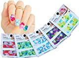 Nail Art Water Slide Tattoo Decals ♥ Full-Cover ♥ Blossom Flowers, 5 - pack ♥ /CIII/