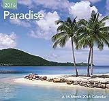 Paradise Mini Wall Calendar (2016)