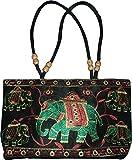 Czds India Women's Black Handbag (BAG-08)