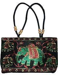 Czds India Women's Black Handbag (BAG-39)