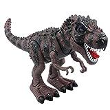 Amazon.co.jpYier 電動モバイルビッグティラノサウルスおもちゃグレー恐竜