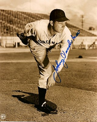 Autographed Photo Johnny Vandermeer Cincinnati Reds