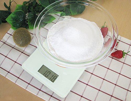 2 kg ?chelle de verre DRETEC [stockage commode 17mm minceur] Blanc KS-241WT (japon importation)